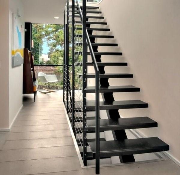 Lan can cầu thang sắt